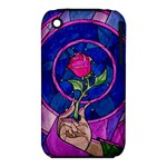 Enchanted Rose Stained Glass iPhone 3S/3GS