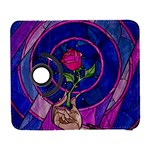 Enchanted Rose Stained Glass Galaxy S3 (Flip/Folio)