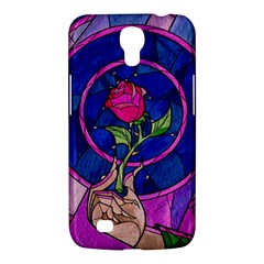 Enchanted Rose Stained Glass Samsung Galaxy Mega 6 3  I9200 Hardshell Case by Onesevenart