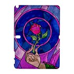 Enchanted Rose Stained Glass Galaxy Note 1