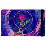 Enchanted Rose Stained Glass Apple iPad Pro 9.7   Flip Case