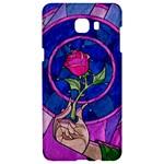 Enchanted Rose Stained Glass Samsung C9 Pro Hardshell Case
