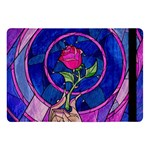 Enchanted Rose Stained Glass Apple iPad Pro 10.5   Flip Case