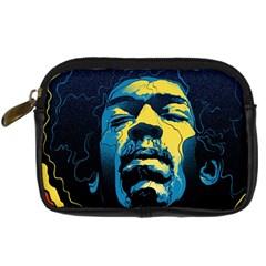 Gabz Jimi Hendrix Voodoo Child Poster Release From Dark Hall Mansion Digital Camera Cases by Onesevenart