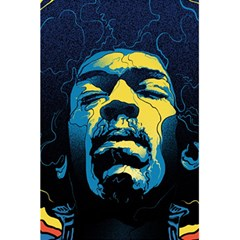 Gabz Jimi Hendrix Voodoo Child Poster Release From Dark Hall Mansion 5 5  X 8 5  Notebooks by Onesevenart