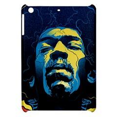 Gabz Jimi Hendrix Voodoo Child Poster Release From Dark Hall Mansion Apple Ipad Mini Hardshell Case by Onesevenart