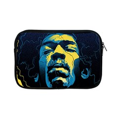 Gabz Jimi Hendrix Voodoo Child Poster Release From Dark Hall Mansion Apple Ipad Mini Zipper Cases by Onesevenart