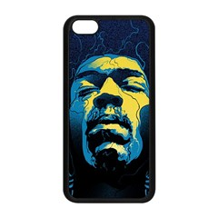 Gabz Jimi Hendrix Voodoo Child Poster Release From Dark Hall Mansion Apple Iphone 5c Seamless Case (black) by Onesevenart
