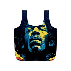 Gabz Jimi Hendrix Voodoo Child Poster Release From Dark Hall Mansion Full Print Recycle Bags (s)  by Onesevenart