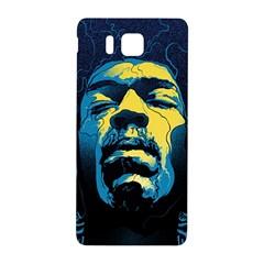 Gabz Jimi Hendrix Voodoo Child Poster Release From Dark Hall Mansion Samsung Galaxy Alpha Hardshell Back Case by Onesevenart