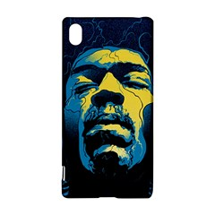 Gabz Jimi Hendrix Voodoo Child Poster Release From Dark Hall Mansion Sony Xperia Z3+ by Onesevenart