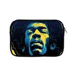 Gabz Jimi Hendrix Voodoo Child Poster Release From Dark Hall Mansion Apple MacBook Pro 15  Zipper Case