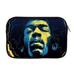Gabz Jimi Hendrix Voodoo Child Poster Release From Dark Hall Mansion Apple MacBook Pro 17  Zipper Case