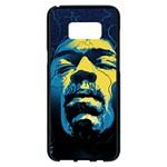 Gabz Jimi Hendrix Voodoo Child Poster Release From Dark Hall Mansion Samsung Galaxy S8 Plus Black Seamless Case