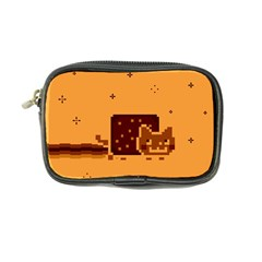 Nyan Cat Vintage Coin Purse by Onesevenart