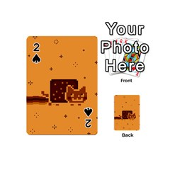 Nyan Cat Vintage Playing Cards 54 (mini)  by Onesevenart