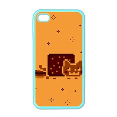 Nyan Cat Vintage Apple Iphone 4 Case (color) by Onesevenart
