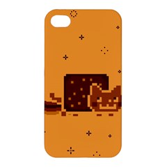 Nyan Cat Vintage Apple Iphone 4/4s Hardshell Case by Onesevenart