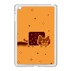 Nyan Cat Vintage Apple Ipad Mini Case (white) by Onesevenart