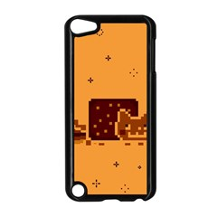 Nyan Cat Vintage Apple Ipod Touch 5 Case (black) by Onesevenart