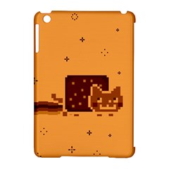 Nyan Cat Vintage Apple Ipad Mini Hardshell Case (compatible With Smart Cover) by Onesevenart