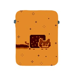 Nyan Cat Vintage Apple Ipad 2/3/4 Protective Soft Cases by Onesevenart