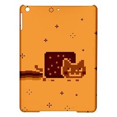 Nyan Cat Vintage Ipad Air Hardshell Cases by Onesevenart