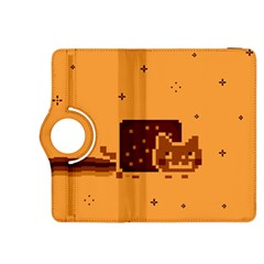Nyan Cat Vintage Kindle Fire Hdx 8 9  Flip 360 Case by Onesevenart