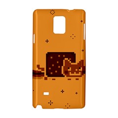 Nyan Cat Vintage Samsung Galaxy Note 4 Hardshell Case by Onesevenart