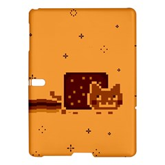 Nyan Cat Vintage Samsung Galaxy Tab S (10 5 ) Hardshell Case  by Onesevenart