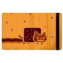 Nyan Cat Vintage Apple Ipad Pro 12 9   Flip Case by Onesevenart