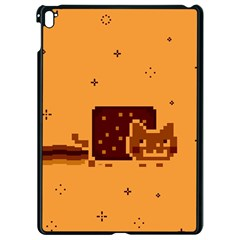 Nyan Cat Vintage Apple Ipad Pro 9 7   Black Seamless Case by Onesevenart