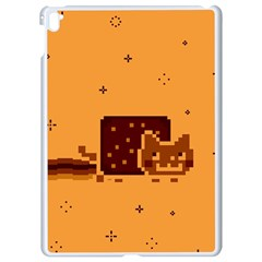 Nyan Cat Vintage Apple Ipad Pro 9 7   White Seamless Case by Onesevenart