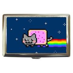 Nyan Cat Cigarette Money Cases by Onesevenart