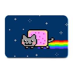 Nyan Cat Plate Mats by Onesevenart