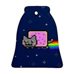 Nyan Cat Bell Ornament (Two Sides)