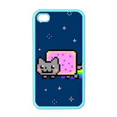 Nyan Cat Apple Iphone 4 Case (color) by Onesevenart