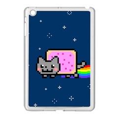 Nyan Cat Apple Ipad Mini Case (white) by Onesevenart