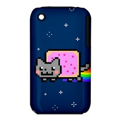 Nyan Cat Iphone 3s/3gs by Onesevenart