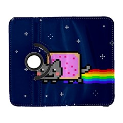 Nyan Cat Galaxy S3 (flip/folio) by Onesevenart