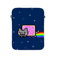 Nyan Cat Apple Ipad 2/3/4 Protective Soft Cases by Onesevenart