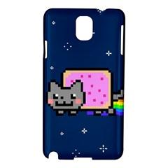 Nyan Cat Samsung Galaxy Note 3 N9005 Hardshell Case by Onesevenart