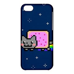 Nyan Cat Apple Iphone 5c Hardshell Case by Onesevenart