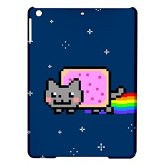 Nyan Cat Ipad Air Hardshell Cases by Onesevenart
