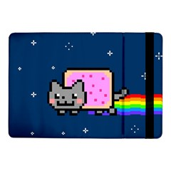 Nyan Cat Samsung Galaxy Tab Pro 10 1  Flip Case by Onesevenart