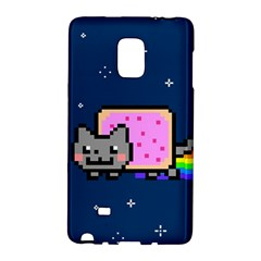 Nyan Cat Galaxy Note Edge by Onesevenart