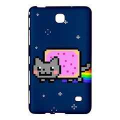 Nyan Cat Samsung Galaxy Tab 4 (8 ) Hardshell Case  by Onesevenart