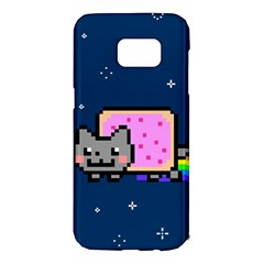Nyan Cat Samsung Galaxy S7 Edge Hardshell Case by Onesevenart