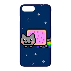 Nyan Cat Apple Iphone 7 Plus Hardshell Case by Onesevenart