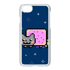 Nyan Cat Apple Iphone 7 Seamless Case (white) by Onesevenart